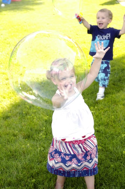Nobody loves anything as much as kids love bubbles.