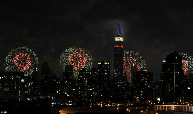 Happy Independence Day! New York and Washington lead the nation in Fourth of July fireworks celebrations   3