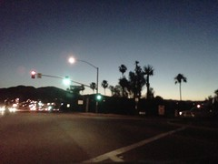 A most beautiful evening in the 'sun city' area of Menifee, California by billgould