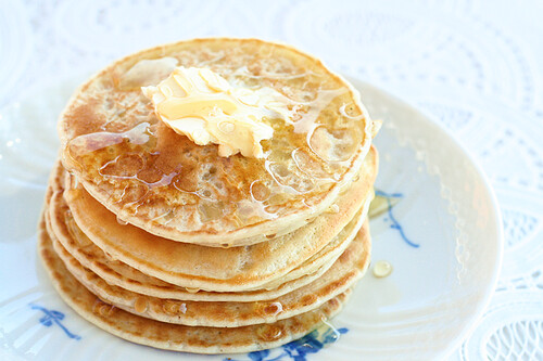 Pancakes for Breakfast :D