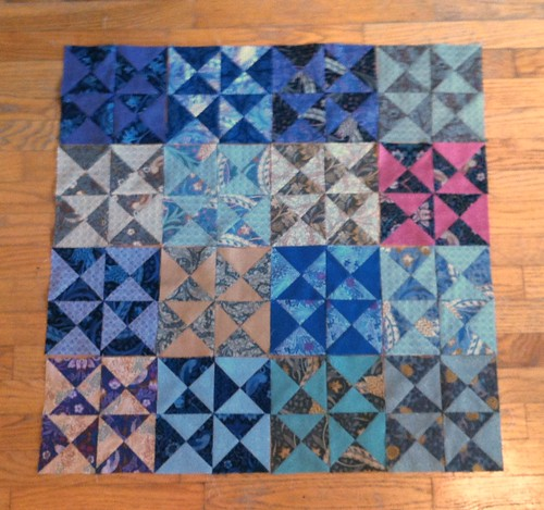 A lot of quarter square triangles