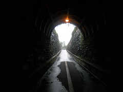 Bike Commute 64: Summer Rain at the Wilkes Street Tunnel by Rootchopper