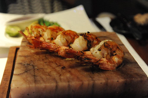 Himalayan Salt Brick Tiger Prawn