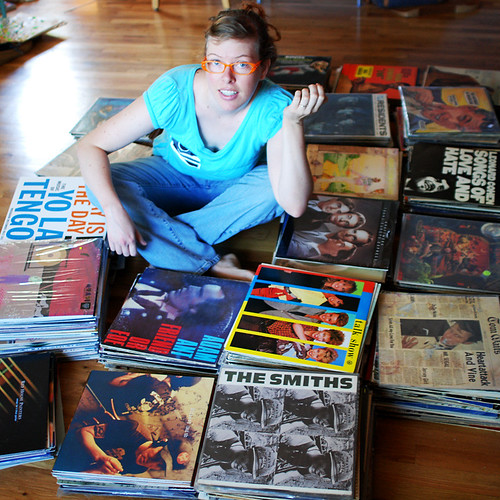 me with my records