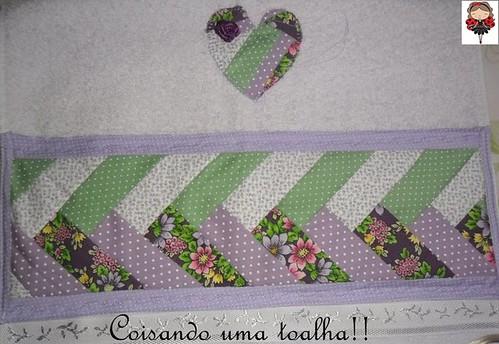 Toalha de lavabo! by Coisando as Coisas by Clau