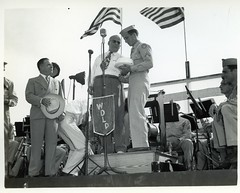 139 Tyndall Field, Florida WWII (rich701) Tags: city bw vintage army war florida wwii worldwarii ww2 airforce graflex speedgraphic tyndall aaf usaaf floridamemory fieldpanama tyndallair