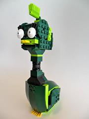Funky Duck (Martian Cthulhu) Tags: duck contest funky flipper npu