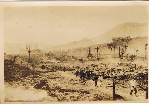 Nagasaki Bomb Aftermath