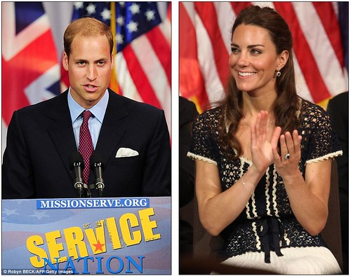 We salute you William and Kate wrap up their U.S. tour by paying  tribute to brave Americans who serve in the military  1