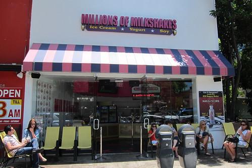 Millions of Milkshakes - Menu - West Hollywood