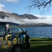 Soul ao lado do Lago Wanaka