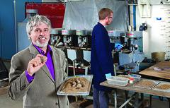 Le professeur Guy Mercier, du Centre Eau Terre Environnement