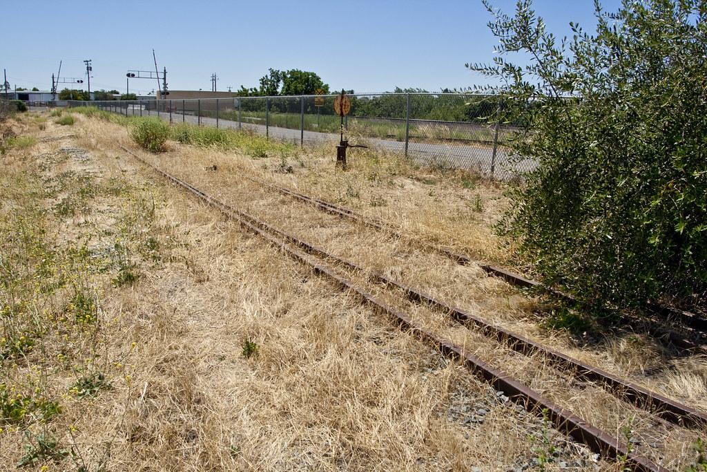 Abandoned Rail Siding Antioch CA