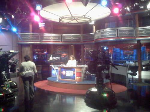 NSLC COMM Visits WUSA9 CBS-TV