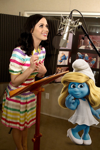 "Katy Perry voices ""Smurfette"""