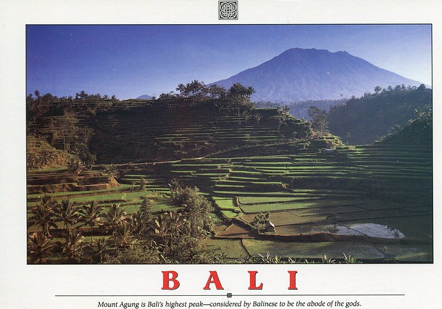 Mount Agung is Bali's highest peak