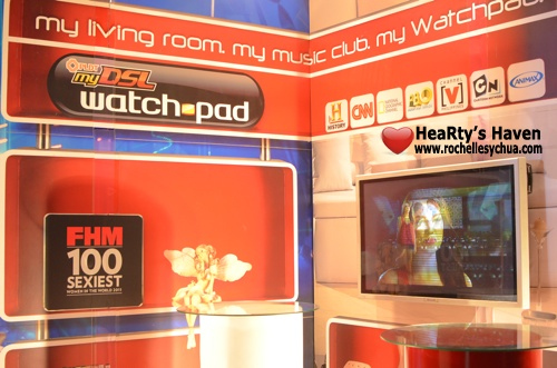 PLDT myDSL WatchPad FHM 100 Live Streaming
