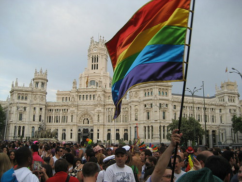 Madrid Gay Pride (Photo: Stuart Baur)