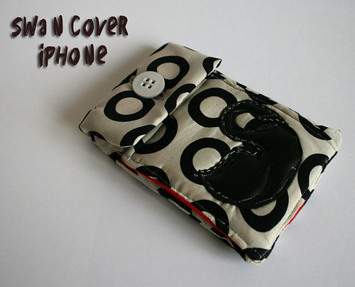 Swan iPhone cover