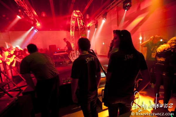 Diplo Backstage
