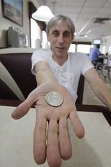 Alex Panko silver dollar