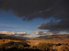 View over Cuzco (jleathers) Tags: sky panorama peru southamerica cuzco clouds cusco 2011 sacsayhuamán