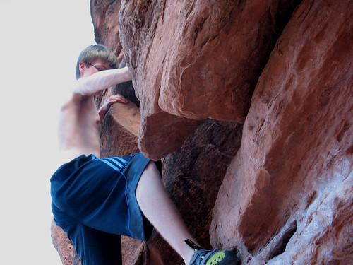 climbing, Moab, Big Bend, bouldering, Utah
