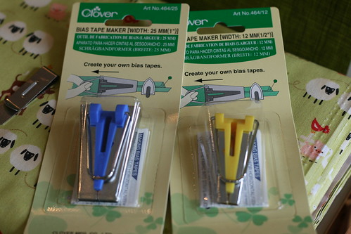 Clover Bias Tape Makers