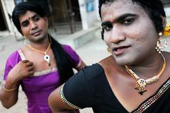 Transvestites (Leonid Plotkin) Tags: india asia transgender transvestite crossdresser tamilnadu transsexual mela hijra villupuram aravani aravan koovagam