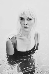 (schaharazad) Tags: portrait white lake black water model eyes heather blonde wilson