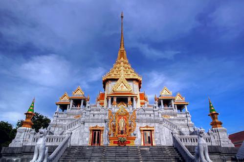 Phra Maha Mondop / Wat Traimit (Golden Buddha Temple) / Bangkok
