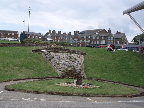 Hunstanton - The Green - stone sculpture