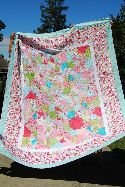 Molly's finished quilt