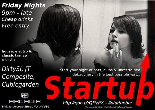 Startup bar AB Remix