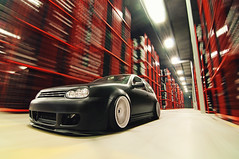 Matt Repka (Ronaldo.S) Tags: motion vw golf nikon tire automotive tokina warehouse rig f28 grids rota mk4 d90 1116mm