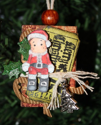 Edwin Matchbox Ornament