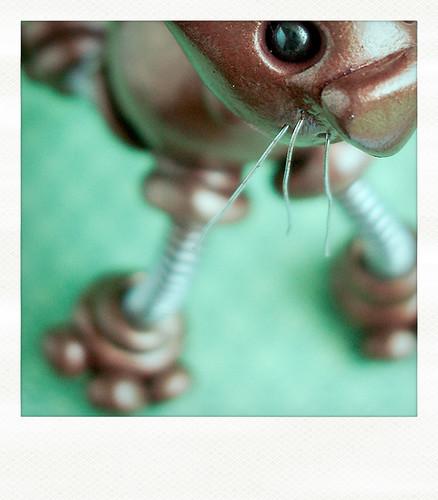 Sneak Peek | Whiskers on Robot Kittens by HerArtSheLoves
