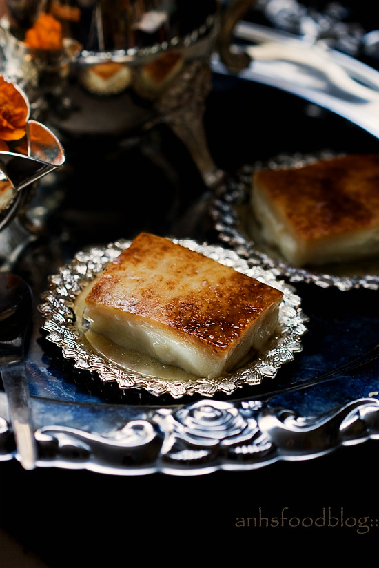 Burned bottom milk pudding(Kazan Dibi)