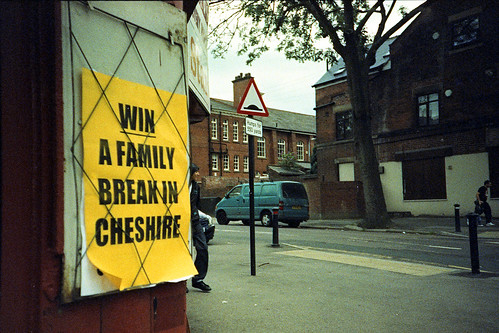 WIN A FAMILY BREAK IN CHESHIRE by pho-Tony