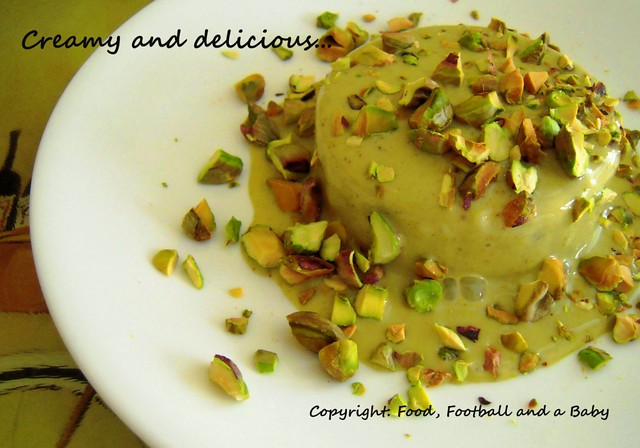 Indian sweets pistachio kulfi the tiffin box pistachio kulfi forumfinder Gallery