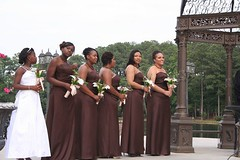 RBH All My Girls (elitedesignsbydaphne) Tags: brown ivory bamboo zen bouquet bridal callalily boutonniere chocolatecallalily
