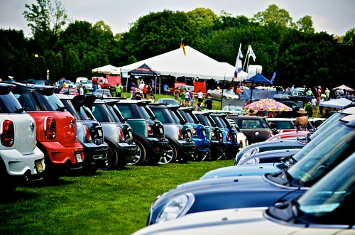 Minis as far as the eye can see.