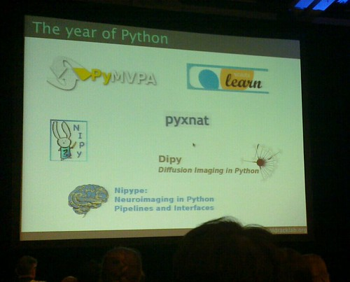 My conference travels: Scipy 2011 and HBM 2011 -- Gaël