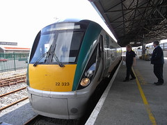 Tralee to Mallow train, at Tralee