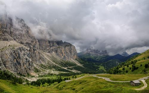 Grödnerjoch - Clouds
