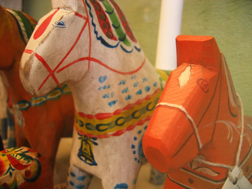 Vintage Dala Horses