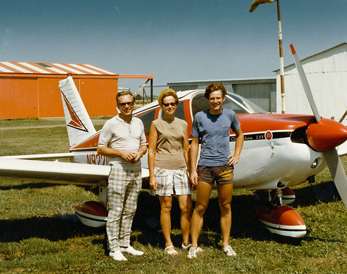 Flying in Iowa 1974 by Ref54