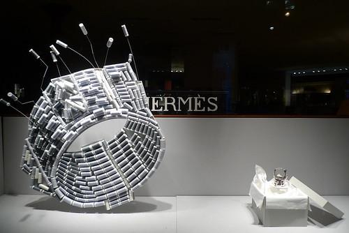 Vitrines Hermès - Paris, juillet 2011