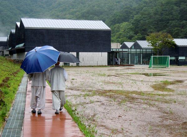 monks_rain