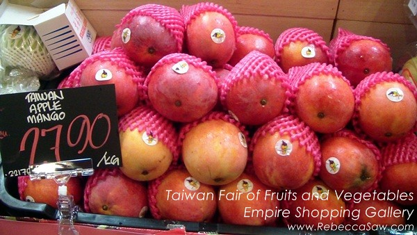 Taiwan Fair of Fruits and Vegetables, Empire Shopping Gallery-08